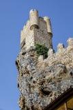 Castillo de la ciudad de Frias Burgos, España imágenes de archivo libres de regalías