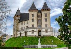 Castillo de la ciudad de Pau en Francia imagen de archivo