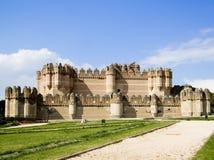Castillo de la coca fotos de archivo