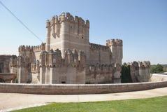 Castillo de la coca imagenes de archivo