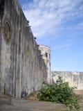 Castillo de la costa del cabo, Ghana, África occidental Fotos de archivo libres de regalías