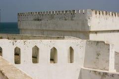 Castillo de la costa del cabo, Ghana Imágenes de archivo libres de regalías