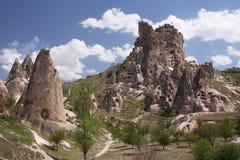 Castillo de la cueva Foto de archivo libre de regalías