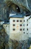 Castillo de la cueva - Eslovenia Foto de archivo libre de regalías
