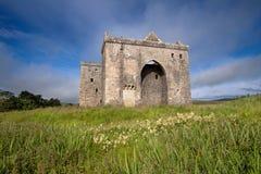 Castillo de la ermita, fronteras escocesas Fotos de archivo libres de regalías