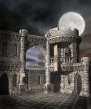 Castillo de la fantasía stock de ilustración