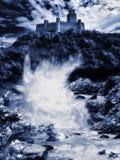Castillo de la fantasía foto de archivo libre de regalías