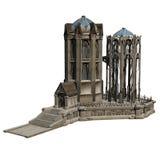 Castillo de la fantasía Fotos de archivo libres de regalías