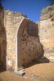 Castillo de la iglesia de Padernes Fotografía de archivo