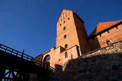 Castillo de la isla de Trakai Imágenes de archivo libres de regalías