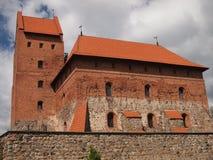Castillo de la isla de Trakai (Lituania) Imagen de archivo libre de regalías
