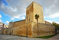 Castillo de la moraleja en provincia de Lucena, Córdoba, Andalucía, España Foto de archivo libre de regalías