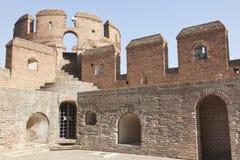 Castillo de la Mota à Valladolid, Espagne photos libres de droits