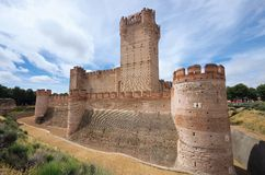 Castillo de la Mota Royalty Free Stock Photography