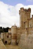 Castillo de La Mota Entrance Fotografía de archivo