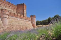 Castillo de la Mota. Medina del Campo, Spain Stock Images
