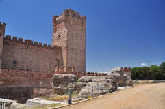 Castillo de la Mota. Medina del Campo, Spain Stock Image