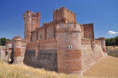 Castillo de la Mota. Medina del Campo, Spain Royalty Free Stock Photo