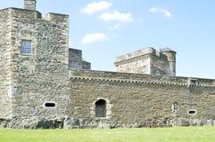 Castillo de la negrura foto de archivo libre de regalías