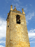 Castillo de la piedra de la torre de Bell Foto de archivo libre de regalías