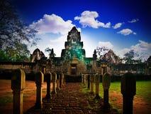 Castillo de la piedra del tiempo Fotos de archivo libres de regalías