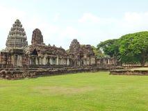Castillo de la piedra de Phimai Imagenes de archivo