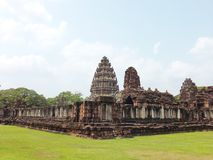 Castillo de la piedra de Phimai Foto de archivo
