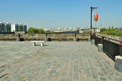 Castillo de la puerta de Zhonghua Imágenes de archivo libres de regalías