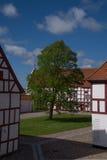Castillo de la ranura de Aalborghus, Aalborg, Dinamarca Fotografía de archivo