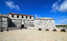 Castillo de la Real Fuerza. Oldest fortress in Cuba - castillo de la Real Fuerza. Historic center of Havana. Cuba Stock Photography