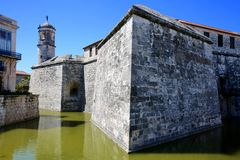 Castillo de la Real Fuerza, Avana, Cuba Fotografia Stock