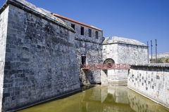 Castillo de la Real Fuerza - Havana, Cuba Royalty Free Stock Photo