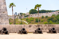 Castillo de la Real Fuerza, Havana, Cuba. Copy space. Stock Images