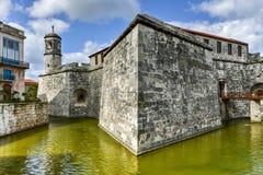 Castillo de la Real Fuerza - Havana, Cuba Stock Images