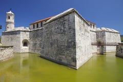 Castillo de la Real Fuerza, Old Havana, Cuba Royalty Free Stock Image