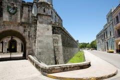 Castillo de la Real Fuerza - Old Havana - Cuba Royalty Free Stock Photo