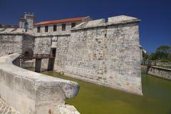 Castillo DE La Real Fuerza, Oud Havana, Cuba Royalty-vrije Stock Foto