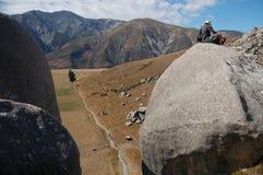 Castillo de la roca Imagen de archivo libre de regalías