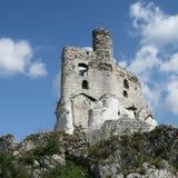Castillo de la roca Fotos de archivo libres de regalías