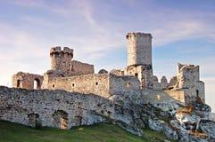 Castillo de la ruina Imagen de archivo libre de regalías