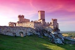 Castillo de la ruina Foto de archivo libre de regalías