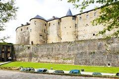 Castillo de la silla de manos Foto de archivo libre de regalías