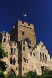 Castillo de Lahneck en Alemania fotos de archivo libres de regalías