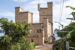 Castillo de Lama, nära till Tarapoto, Peru royaltyfri fotografi