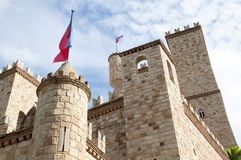 Castillo de Lama, nära till Tarapoto, Peru royaltyfri foto
