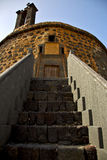 Castillo de Lanzarote las ο παλαιός πύργος κάστρων τοίχων Στοκ Εικόνες