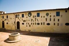 Castillo de Lari, Italia Fotografía de archivo libre de regalías