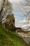Castillo de Larochette, Luxemburgo Foto de archivo