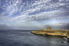 Castillo De Las Coloradas Lanzarote obraz stock