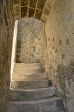 Castillo de las escaleras Imagenes de archivo